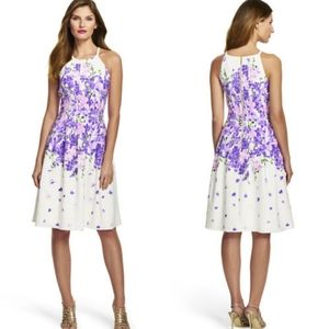 Adrianna Papell Garden Party Floral Dress